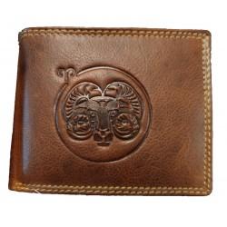 Beran - Kožená peněženka znamení zvěrokruhu