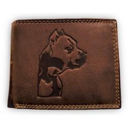 Kožená peněženka Dog
