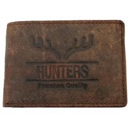 Malá kožená peněženka Hunters