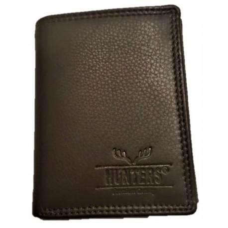 Kožená peněženka hnědá