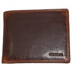Pragati kožená peněženka leštěná