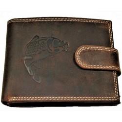 Kožená peněženka kapr velký