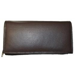 Kožená peněženka dark brown