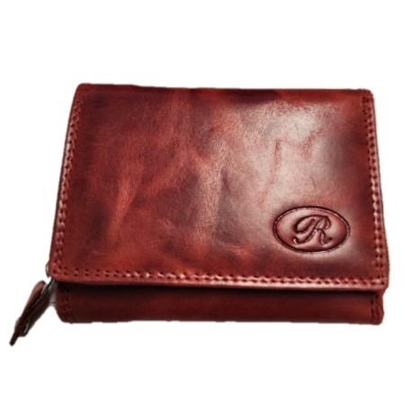 Kožená malá peněženka red  R