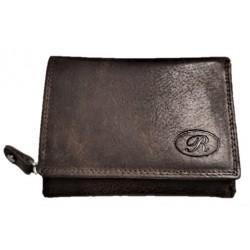 Kožená malá peněženka R dark