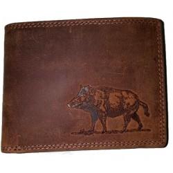 Kožená peněženka kanec