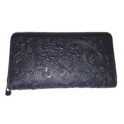 Kožená peněženka penálová