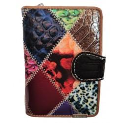 Dámská kožená peněženka podkova