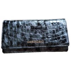 Dámská kožená peněženka gray